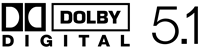 Dolby Digital 5.1 support